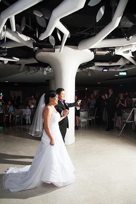 Turnip Rose Wedding Reception - Grand Entrance