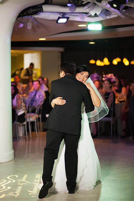 First Dance at Turnip Rose Wedding Reception