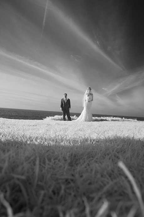 La Jolla Wedding Photographer Infrared