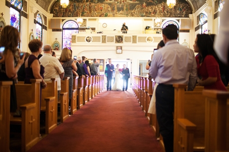 Wedding Ceremony at Our Lady of the Rosary San Diego