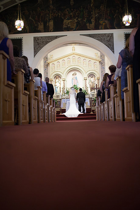 Our Ladyof the Rosary San Diego Wedding