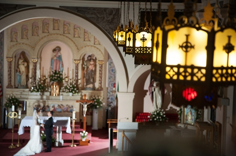 Our Lady of the Rosary San Diego Wedding
