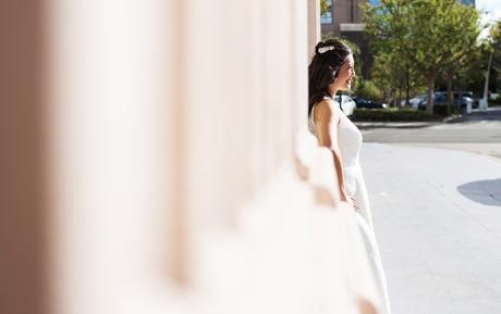 City of Orange Wedding Photographer