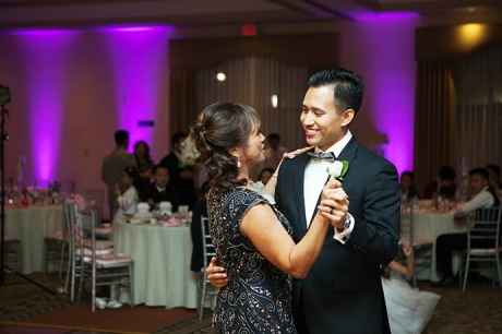 Anaheim Hills Country Club Wedding Reception - Mother Son Dance