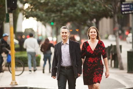 Downtown Los Angles Engagement Session