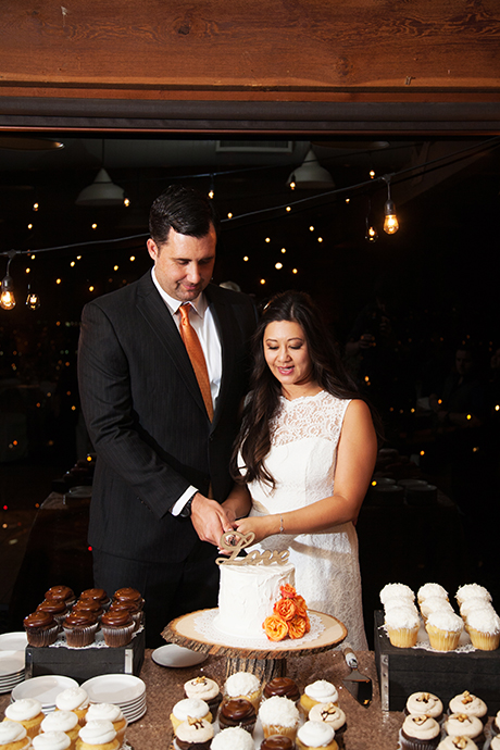 Orange County Mining Company Wedding Reception