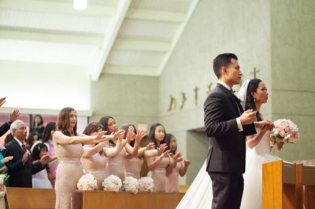 San Antonio Catholi Church Wedding Ceremony