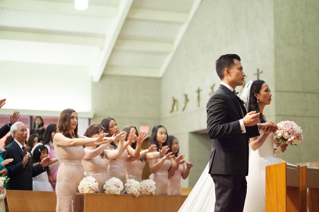 San Antonio Catholi Church Wedding Ceremony
