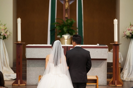 San Antonio Catholic Church Wedding Ceremony