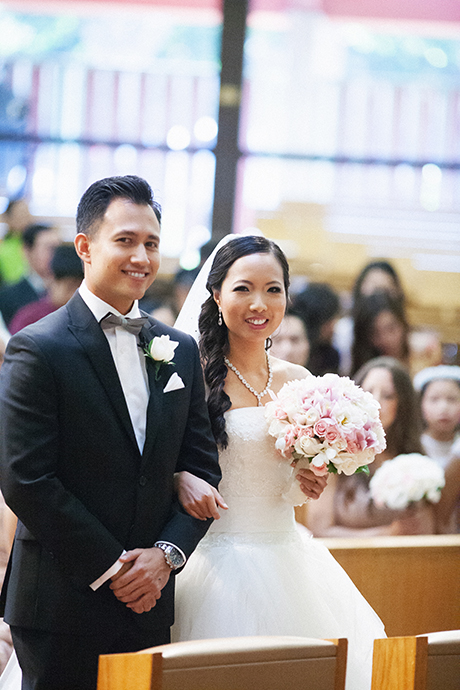 San Anonio Catholic Church Wedding Ceremony