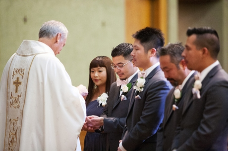 San Antonio Catholic Church Wedding Ceremony1