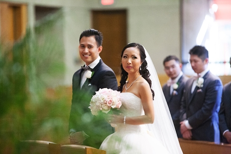 San Anonio Catholic Church Wedding