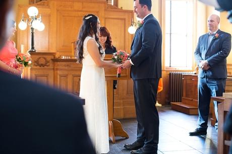 Santa Ana Courthouse Wedding Ceremony