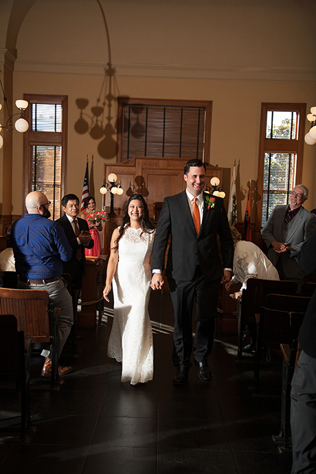 Santa Ana Courthouse Wedding Ceremony