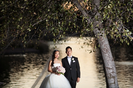 Yorba Linda Regional Park Wedding Pictures - Bride and Groom