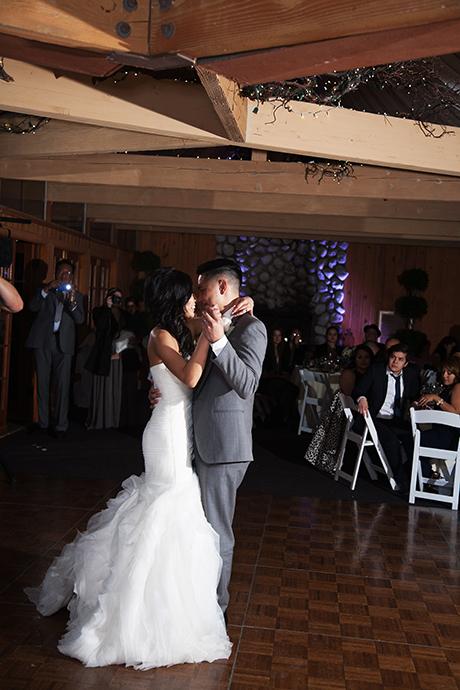 First Dance Calamigos Ranch Wedding