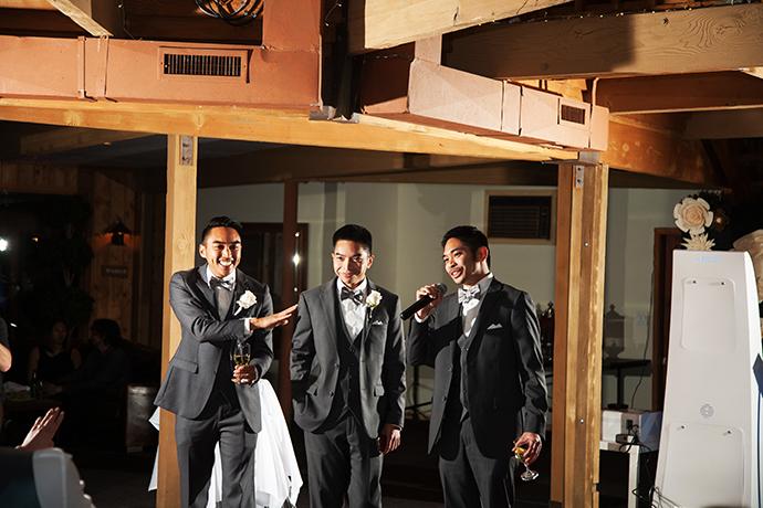 Calamigos Ranch Wedding Reception