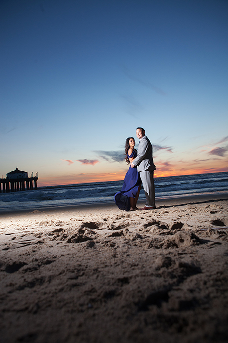 Manhattan Beach Engagement Session