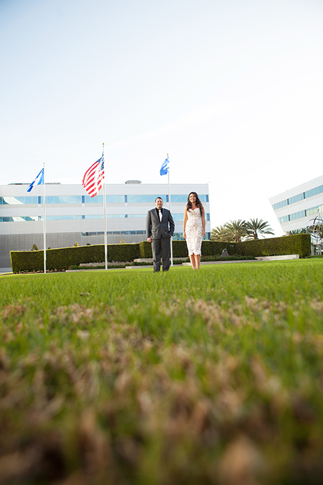Los Aneles Air Force Base Engagement Pictures