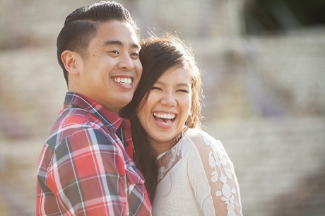 Malaga Cove Library Engagement Pictures