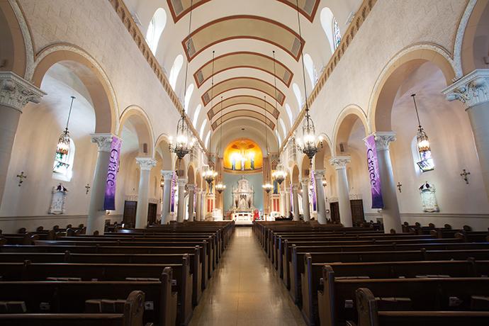 Saint Monica Catholic Church Wedding