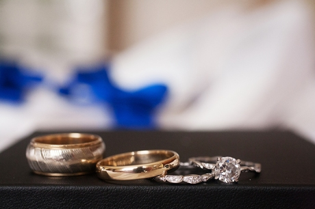 Wedding Rings at Newport Beach Marriott Bayview