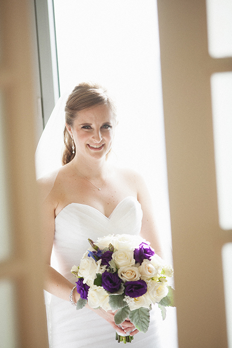 Newport Beach Wedding Photographer - Bride window light