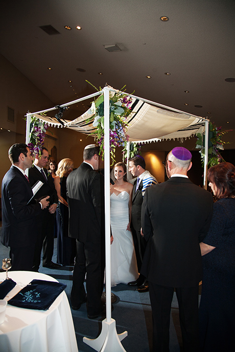 Temple Bat Yahm Wedding Ceremony