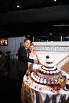 Turnip Rose Wedding Reception - Cake Cutting