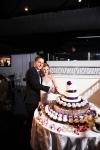 Turnip Rose Wedding Reception - Cake Cutting