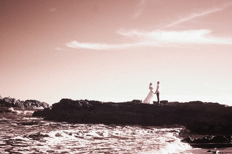 Infrared Wedding Photography