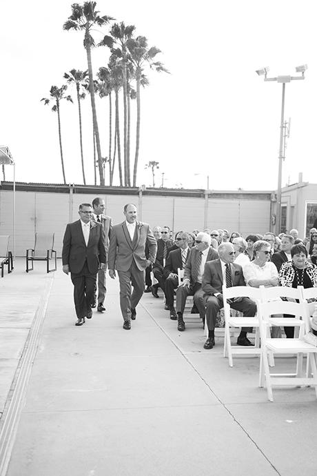 Long Beach Yacht Club Wedding Ceremony