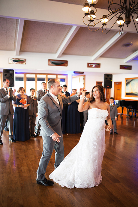 Long Beach Yacht Club Wedding Reception