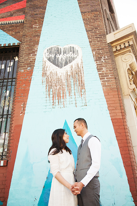 Engagement Session Los Angeles Art District