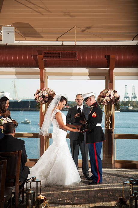 Parker's Lighthouse Wedding Ceremony