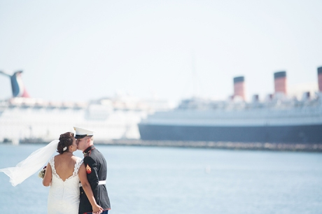 Bride and Groom Queen Mary