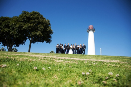 Parker's Lighthouse Wedding - Bridal Party