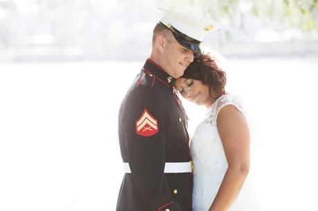 Parker's Lighthouse Wedding - Bride and Groom