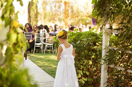 Flower Girl at Abbott Manor Wedding