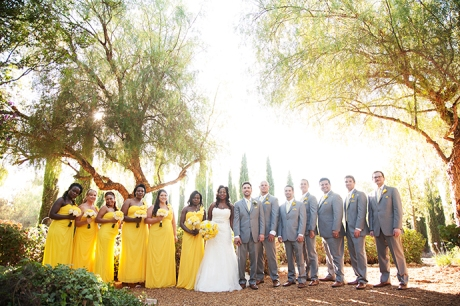Bridal Party at Abbott Manor Wedding