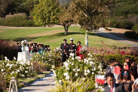 Bella Collina San Clemente Wedding Ceremony
