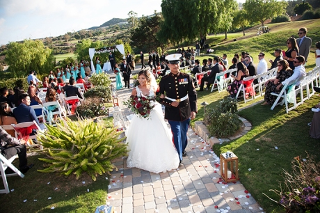 Bellla Collina San Clemente Wedding Ceremony