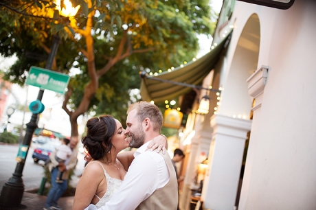 State Street Santa Barbara Wedding Pictures