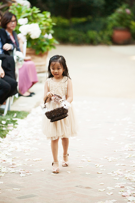Flower Girl at Calamigos Ranch