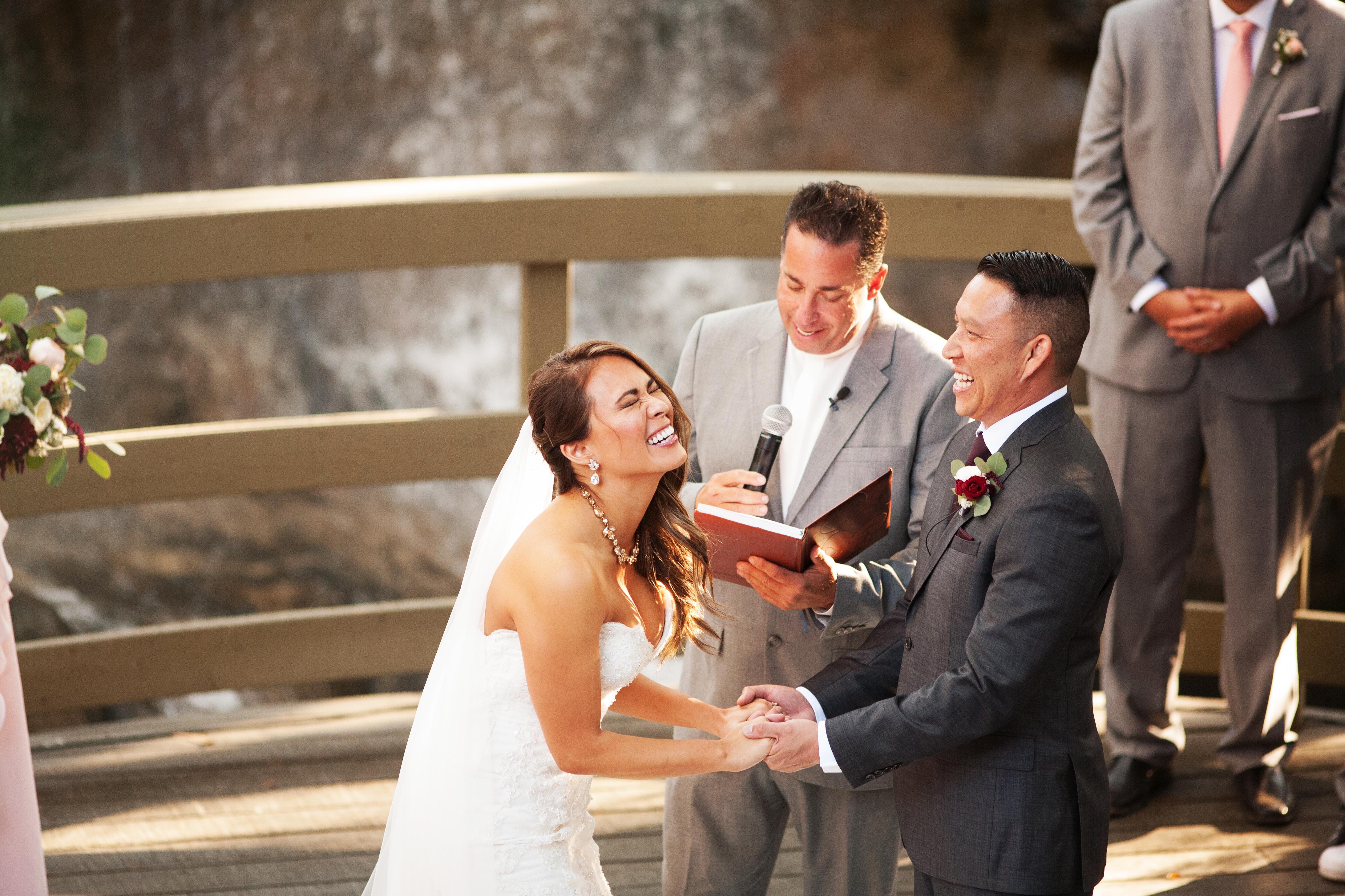 Calamigos Ranch Wedding Ceremony