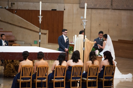 Cathedral of Our Lady of the Angels Wedding Pictures