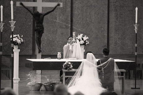 Cathedral of Our Lady of the Angels Wedding Photos