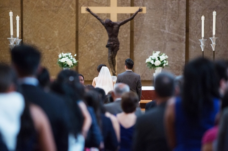 Cathedral of Our Lady of the Angels Wedding