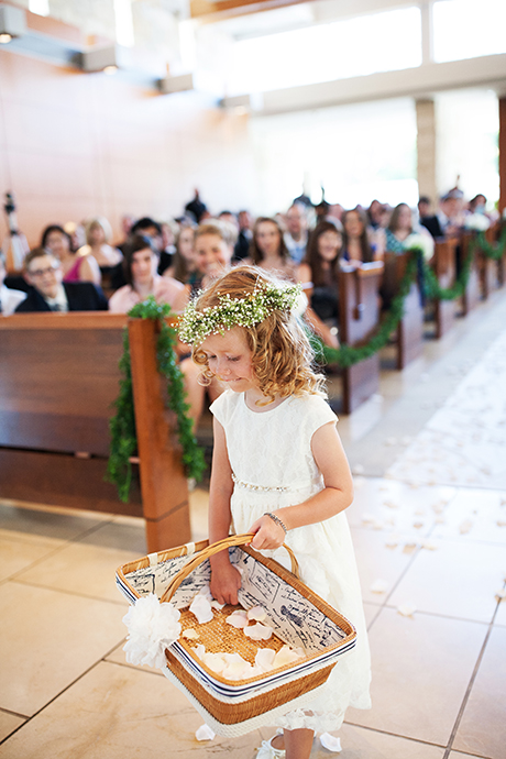 Crossline Community Church Wedding Ceremony