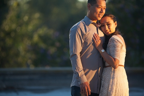 Huntington Beach Library Engagement Pictures